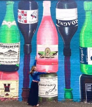 Kerri-and-big-bottle-of-txak